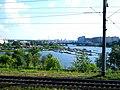 Лодочная станция на р.Ягорба (Исм.Альберт) - panoramio.jpg