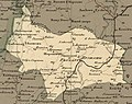 Мапа Пружанскага павету (1820) Pružanski paviet map.jpg