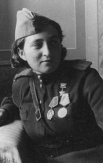 Mariya Shcherbachenko Medic and Heroine of the Soviet Union