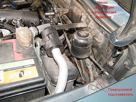 Предпусковой подогреватель двигателя для дизеля своими руками