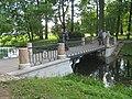 Пушкин. Александровский парк. Мост на протоке пруда Озерки01.jpg