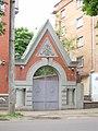 Росiйський селянський банк, ворота (Полтава) 04.JPG