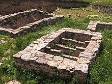 An ancient basin for fish preservation