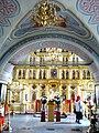 Троице-Тихвинская церковь.Иконостас верхней церкви.JPG