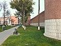 Тула, Кремль. Фрагмент стены от Спасской башни к башне Пятницких ворот.jpg