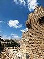חומות העיר העתיקה ביחד עם מגדל דוד ונוף ירושלים.JPG