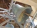 """כנסיית """"אוגוסטה ויקטוריה"""" - פעמון הכנסייה שבראש המגדל בפעולה.JPG"""