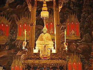 Emerald Buddha Statue considered the Palladium of Thailand
