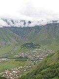 ხედი გერგეთის სამებიდან - panoramio.jpg