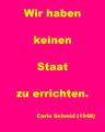 """""""Wir haben keinen Staat zu errichten"""" — Carlo Schmid (1948).png"""