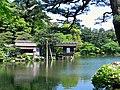 兼六園內橋亭 Kenrokuen Garden Uchihashi Pavilion - panoramio.jpg