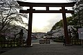 参道からの夕日 - panoramio.jpg