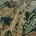 多摩ニュータウン京王堀之内駅周辺の1989年の航空写真.jpg