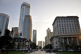 Zhongshan District, Dalian District in Liaoning, Peoples Republic of China