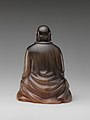 犀角達摩像-Buddhist monk Bodhidharma (Chinese- Damo) MET DP253235.jpg