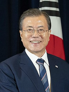 Moon Jae-in President of South Korea