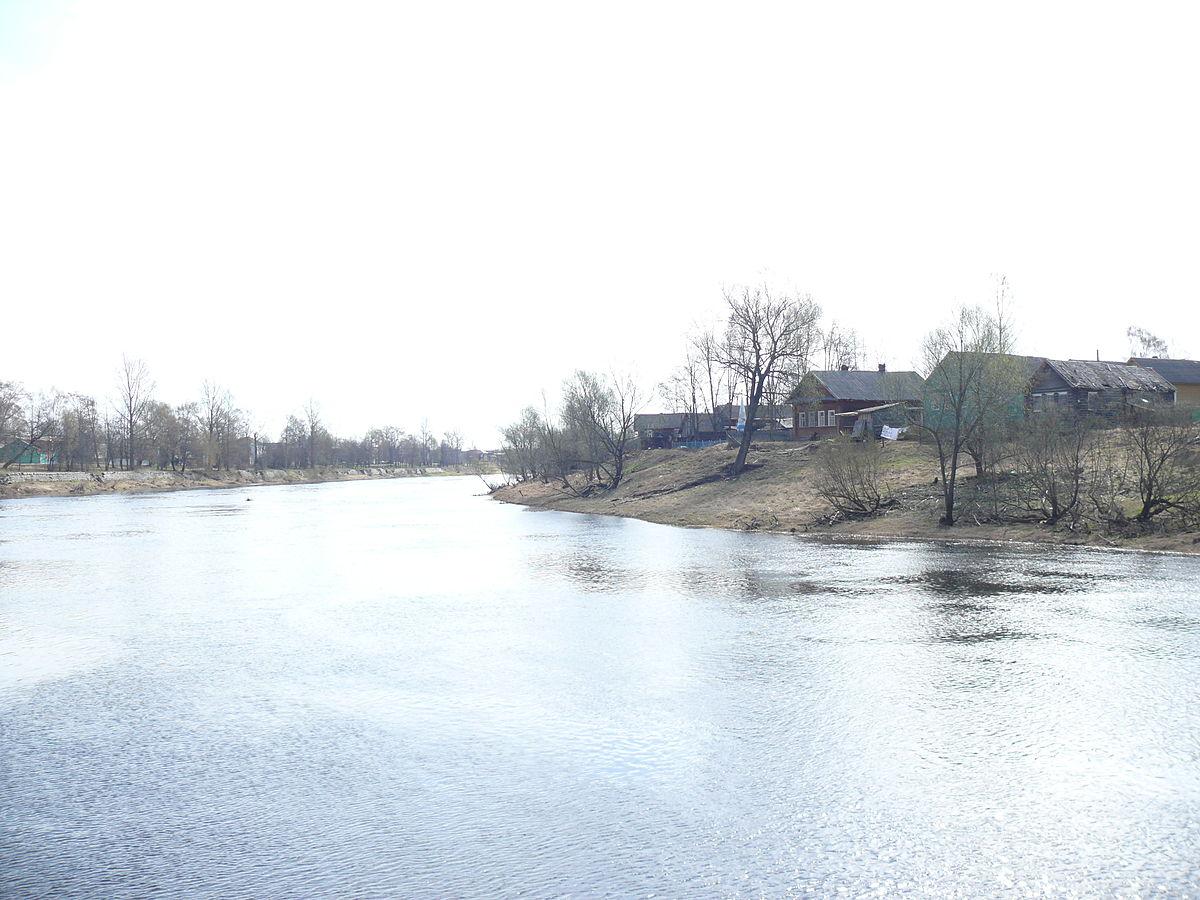 река городня схема