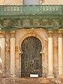 007 Palau Desvalls, parc del Laberint (Barcelona), porta.jpg