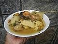 0099Nilagang repolyo, petsay Tagalog, kamote, patatas, kamatis at Pritong Dalag (Bulig) sa tanglad 10.jpg