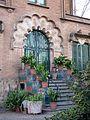02 Casa Fornells, av. Tibidabo 35 (Barcelona), portal.jpg