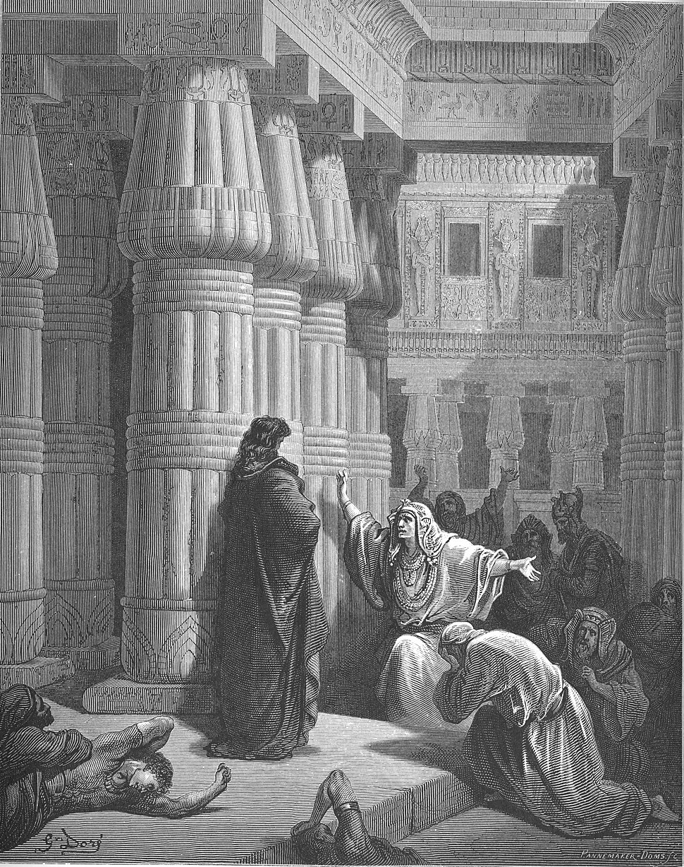 036.The Egyptians Ask Moses to Depart