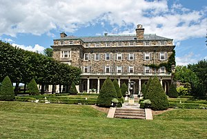 Kykuit - Southwestern exposure of Kykuit