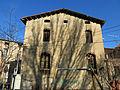 040 Can Cavaller (Monistrol de Montserrat), façana sud, pl. de la Font Gran.JPG