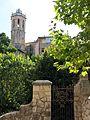 043 Tanca de Can Pratmarsó, al Passeig (Centelles), al fons Santa Coloma.jpg