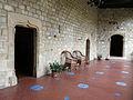 072 Castell de Santa Florentina (Canet de Mar), galeria del Tallat.JPG