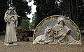 094 Sector de Sant Oleguer, estàtues de sant Francesc i sant Marc.jpg