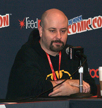 Marc Andreyko - Andreyko at the 2013 New York Comic Con