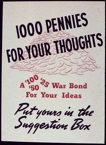 1000 Pennies for Your Thoughts - NARA - 534149