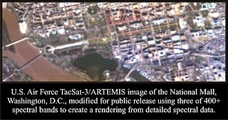 TacSat-3 - ARTEMIS image of the National Mall