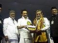 11.03.17 -- Recieing IUML Award for Contribution to Rel Harmony from Stalin and KMK Sir.jpg