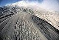 127 Massive deposit of ash near Mt St Helens volcano (35373446554).jpg