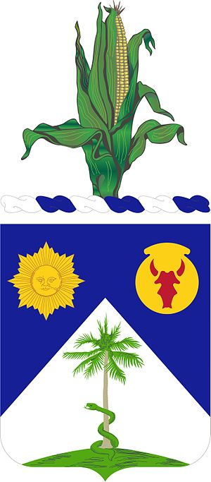 Nebraska Army National Guard - Image: 134TH CAVALRY COA