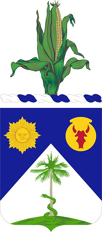 134th Cavalry Regiment (United States) - Coat of arms