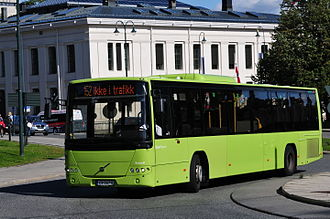 Volvo B12BLE - Norgesbuss Volvo B12BLE with Volvo 8700LE body in Oslo, Norway.