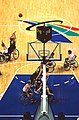 141100 - Wheelchair basketball Australian team shoots - 3b - 2000 Sydney match photo.jpg