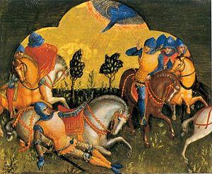 Lorenzo Veneziano - Conversion of Saint Paul