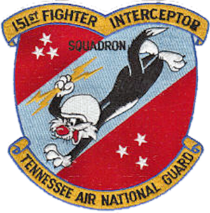 151st Air Refueling Squadron - Image: 151st Fighter Interceptor Squadron Emblem