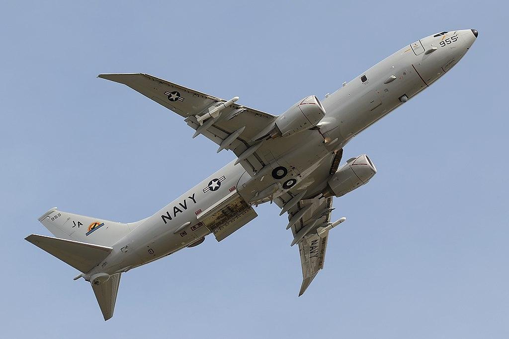 167955 Boeing P-8A Poseidon US Navy VX-1 (14676673471).jpg