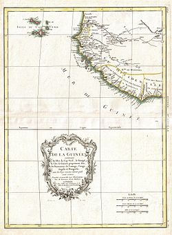 1771 Bonne Map of the Guinea Coast of West Africa and the Cape Verde Islands - Geographicus - Guinea-bonne-1771.jpg