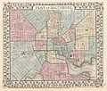 1867 Mitchell Map of Baltimore, Maryland - Geographicus - Baltimore-mitchell-1867.jpg