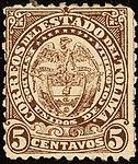 1886 5c EU de Colombia Tolima unused Mi27.jpg