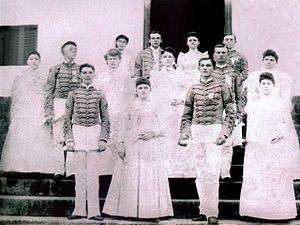 Georgia Military College - 1890 graduation class