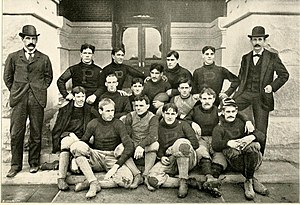1895 Purdue Boilermakers football team - Image: 1895 Purdue football team