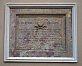 1898 municipal building plaque Market Place Margate Kent England.jpg
