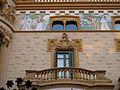 18 Casa Bernat i Creus, av. Tibidabo 27 (Barcelona), balcó i pintures.jpg