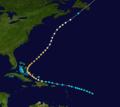 1908 Atlantic hurricane 6 track.png